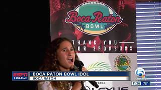 Boca Raton Bowl Idol - Video