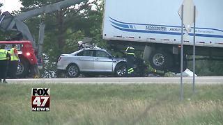 UPDATE: One person killed in I-96 accident - Video