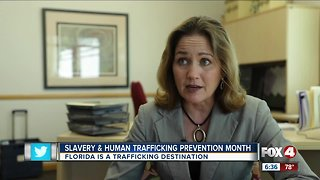 Learning the signs & symptoms of human trafficking