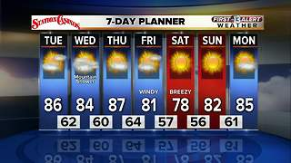 13 First Alert Las Vegas weather forecast for Monday Oct. 16 - Video