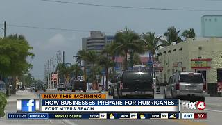 How businesses prepare for hurricanes