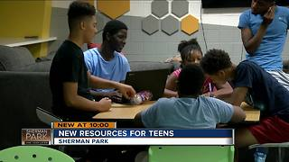 New teen centers opens in Sherman Park - Video