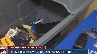 TSA holiday season travel tips - Video