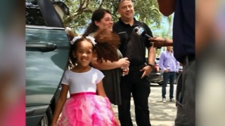 Delray Beach police officer Adrian Rackauskas wins community policing award - Video