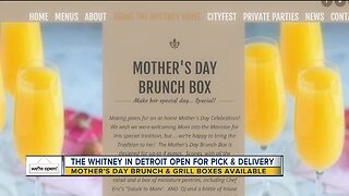 The Whitney selling Mother's Day Brunch boxes, delivery & curbside pickup available