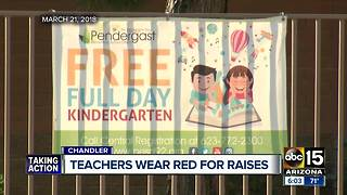 Arizona teachers continue to fight for higher wages - Video