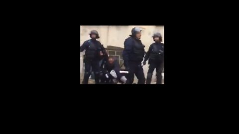 Police Clash With Student Protesters as Streets Blocked in Reims
