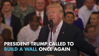 Trump calls for border wall after US patrol agent killed - Video