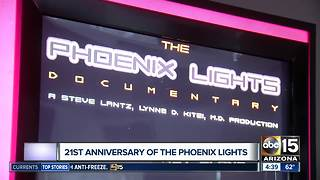 21st anniversary of 'Phoenix Lights' - Video