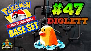 Pokemon Base Set #47 Diglett | Card Vault