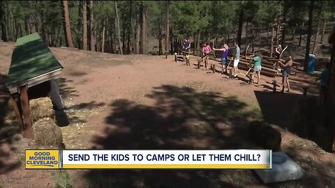 Send the kids to camps or let them chill?