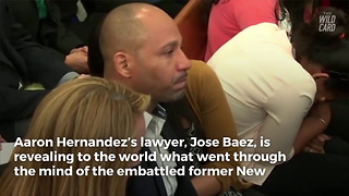 Attorney reveals what was going through Hernandez's mind right before suicide