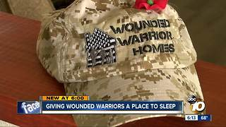 LEADership: Giving wounded warriors a place to sleep