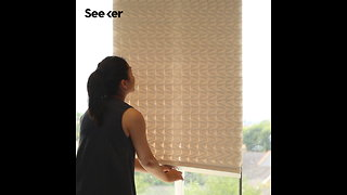 These Paper Blinds Keep out the Sun Sustainably