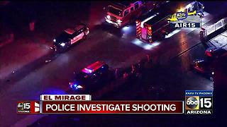 Police investigating shooting in El Mirage - Video
