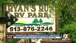 Grandmother, granddaughter killed at campground - Video