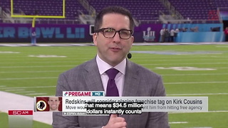 Redskins May Franchise Tag Kirk Cousins a Third Time - Video