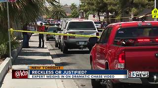 Safety expert reviews police chase video - Video