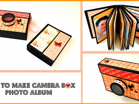 Diy Gift Ideas For Men How To Make A Mini Album