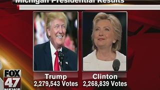 Michigan's presidential results - Video