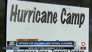 Camps open up for students during school closures - Video