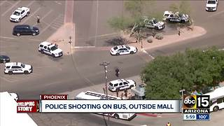 Police shoot and kill suspect near Metrocenter Mall in Phoenix - Video