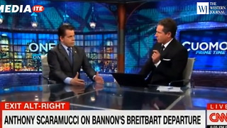 Right After Bannon Departs Brietbart, Scaramucci Steps Forward and Unloads - Video