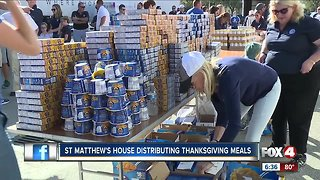 Turkey Drop helps feed local families in need