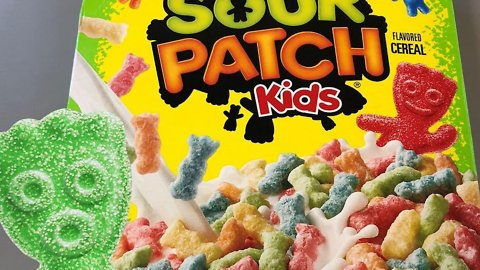 Sour Patch Kids Cereal Is Real, and It's out Now