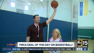 YMCA Basketball Deal of the Day! - Video