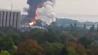 Explosion Heard, Flames and Smoke Seen, Amid Deadly Chemical Plant Fire - Video