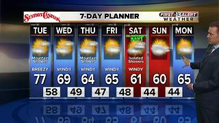 13 First Alert Weather for March 13 2018 - Video