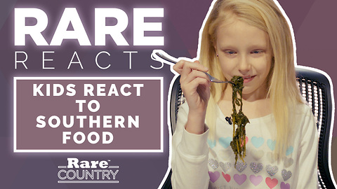 Kids React to Southern Food   Rare Reacts