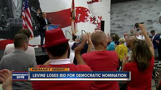 Levine loses bid for democratic nomination