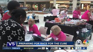 Preparations underway for the Race For The Cure - Video