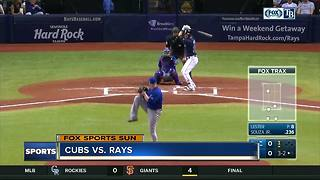Tampa Bay Rays, Blake Snell end Chicago Cubs' 7-game winning streak - Video