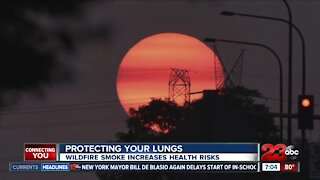 Protecting your lungs during wildfire season