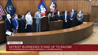 CEOs of prominent Detroit corporations plan to take stand against racism