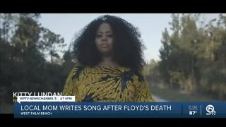 Local mother writes song after George Floyd's death