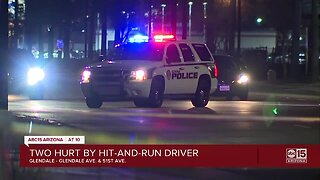 Adult and teen struck by hit-and-run driver in Glendale