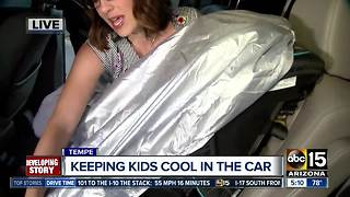 AAA: How to keep kids cool in Arizona summer