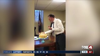 Mitt Romney goes viral for blowing out birthday candles