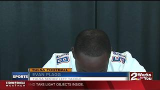 Tulsa Football Offensive Line living that #TrenchLife - Video