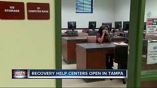 Recovery help centers open in Tampa - Video