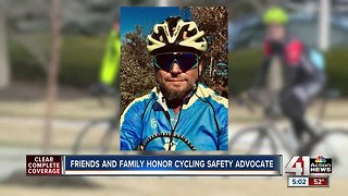 Cycling community rallies behind family of Olathe man who died during race