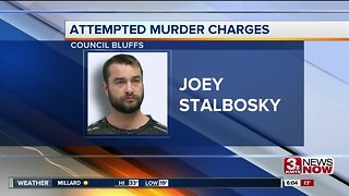 Council Bluffs man charged with attempted murder