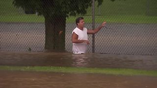 Madison floods after heavy rains