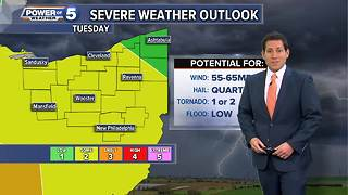 Tuesday weather and top stories - Video