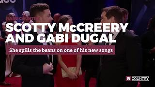 Scotty McCreery and Gabi Dugal at the CMAs | Rare Country - Video