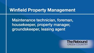 Who's Hiring: Winfield Property Management